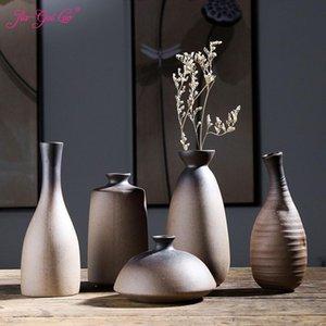 JIA-GUI LUO Ceramic Vase Nordic Decoration Home Flower Jarrones Decorativos Moderno C058 Vases