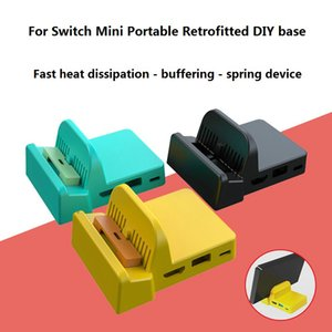Game Accessories Heat dissipation base DIY modification portable mini bases bracket For Nintendo Switch Games Console
