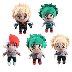 "5 Styles My Hero Academia Midoriya Izuku Plush toy Bakugou Katsuki Soft Dolls 9""23 cm"