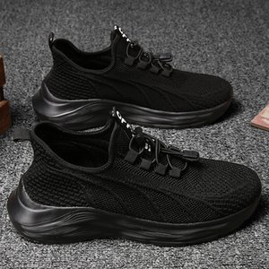 Top Quality Women Men Running Shoes Black White Grey Outdoor Jogging Sports Trainers Sneakers Size 39-44 Code: LX31-FL8955