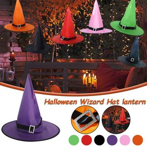 Party Hats Children Adult Prom Dress Up Costume Props Home Decoration Halloween Light-up Decorative Hat Ornament