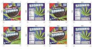 2021 polyester film çantası bisküvi 500 mg anti-koku depolama yenilebilir ambalaj 4 çeşit kurutulmuş bitkisel çiçekler 5 stilleri