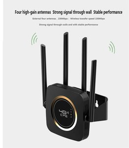 LTE CAT4 6 9 12 CPE 1200Mbps SIM WIFI Modem,Wireless 4G Routers with Hanger, 5G Indoor 4 External Antennas