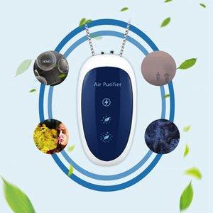 Air Purifiers Est Necklace Purifier, Mini Portable Personal Hanging Purifier With 120 Million Negative Ion Freshener