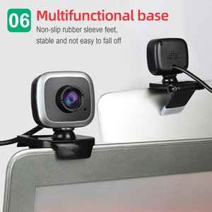 Webcams HD Webcam 480P PC 30fps Camera High-Definition Cam Video Call With Microphone DQ-Drop