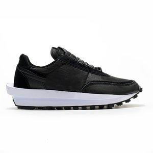 أحذية مع شعار LDV الهراء النساء السالك الرخيصة الهراء المتسابق الأسود أبيض تريبير daybreak اسكواش