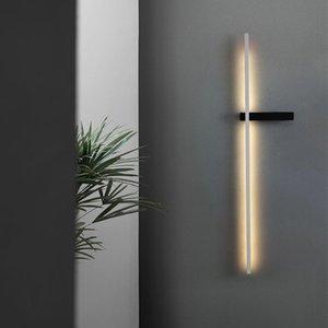 Wall Lamps Modern Bedroom Bedsides Minimalism Lights Fixtures Living Room Mirror El Indoor Decoration Lighting Lustres