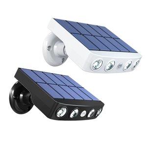 HaoXin Powerful Solar Lamp Outdoor PIR Motion Sensor Waterproof LED Light Spotlights For Garden Path Street