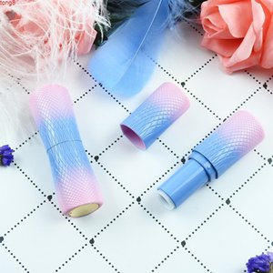 12.1mm Plastic Empty Lipstick Tubes Red Black Lip Gloss Container Balm Containers for Women Makeup 20pcs lotgood qty