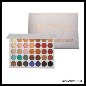 EPACK High Quality! New Makeup beauty glazed 35color Glitter Eyeshadow Palette Matte Eye Shadow DROP