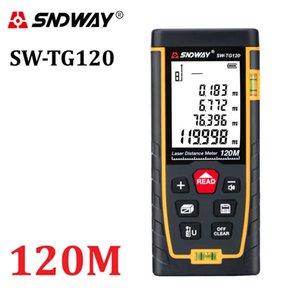 SNDWAY Laser Distance Meter Laser Rangefinder Trena Laser Tape Measure Distance Range Finder ruler Diastimeter Roulette Tool 210719