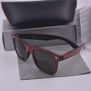 Colorful Frame Sunglasses UV400 Lenses Protection Square Besigner Beach Vintage sport Sun glasses With box and cases