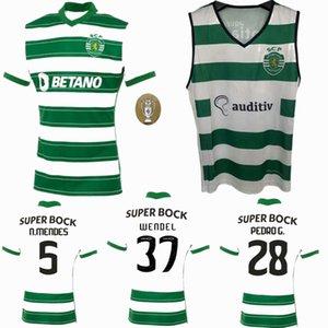 21 22 Sporting CP Soccer Jersey 2021 2022 Lisbon Football Shirt Vietto Camisa de Futebol Men و Kids Acuna Sportar Phellype Shirts