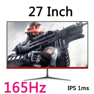 Monitors 27 Inch Computer Monitor 144 Hz Gaming Pc 165hz Lcd