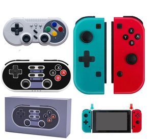 Wireless Bluetooth Pro Gamepad Controller Joystick For Switch Game Handle Joy-Con Right Blue Red Host SWH Gamepod With Retail Box DHL