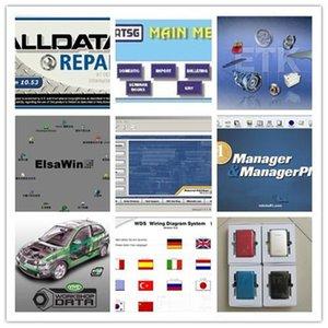 Aracı AllData Satış 10.53V Onarım Yazılımı Canlı Atölye Veri ATSG Elsawin 49 In1 1 TB HDD USB3.0