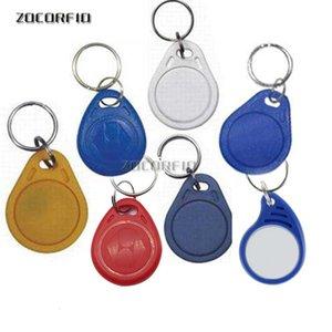 Keychains IC RFID Télécommandes 13.56 MHz Porte-clés MHz Tag Étiquette NFC ISO14443A MF Jeton 1k pour système de contrôle d'accès intelligent