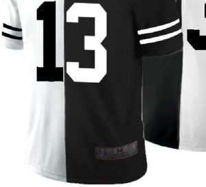 Professional Custom Jerseys Cle 13 Embroidered Split Limited Mens American Football Jersey A0