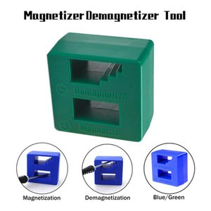 Professional Hand Tool Sets 1Pc Fast Screwdriver Plus Magnetic Device Dual-use Degausser Mini Screw Batch Magnetizer Demagnetizer High Quali