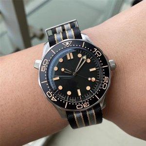 Super Factory Automatic Watch Men 300m 42mm 007 Auto 210.92.42.20.01.001 Mechanical Diver Nylon Strap VSF ETA Men's Watches Wristwatches