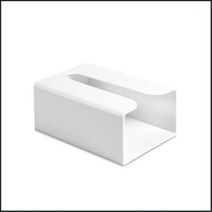 Boxes Napkins Kitchen, Dining Bar Table Decoration Aessories Home & Garden Wall-Mounted Paper Tissue Box Lightweight Household Office Abs Ea