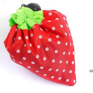 reusable دائم إيكو لطيف الفراولة حقيبة التخزين حقيبة حمل الكتف محفظة DHB8765