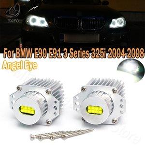 Other Lighting System PMFC LED 2Pcs Angel Eyes Lights Marker 80W Bulbs CANbus Error Free White For E90 E91 3 Series 325i 328i 335i 2006