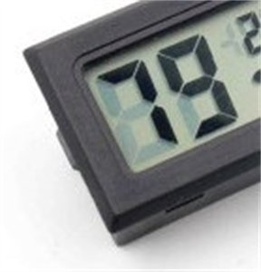 Neue Schwarz / Weiß FY-11 Mini Digital LCD-Umgebung Thermometer Hygrometer Luftfeuchtigkeit Temperaturmesser im Raum Kühlschrank Icebox 328 S2