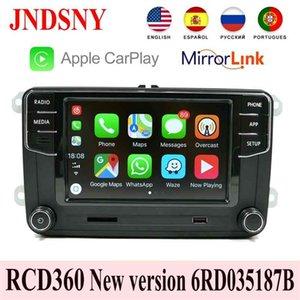RCD360 Carplay Mirrorlink MIB Radio RCD330 6RD 035 187B For VW Touran CC Polo Golf 5 6 MK5 MK6 Tiguan Passat B6 B7 210625