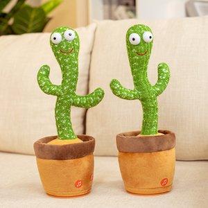 2021 Las celebridades de Internet explosivas bailarán y tirarán los juguetes de cactus canciones de música Regalos Regalos Ornamento creativo para atraer clientes