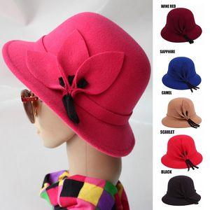 Elegant Women Fisherman Hats Knit Winter Hat Fall For Holiday Travel Warm Cap BMF88 Wide Brim