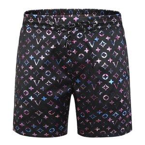 2021 Beach Shorts Men Swimwear Trunk Summer Short Pants Print Breathable Quick DryM-3XL Plus Size Mens Trunks