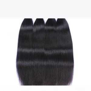 Virgin Brazilian Hair Weave Bundles Peruvian Malaysian Indian Virgin Hair Straight Cheap Brazillian Remy Human Hair Extensions 3 4 5Pcs Lot