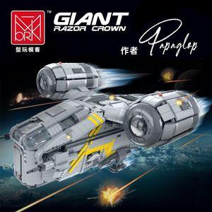 75292 Planet Series The Razor Crest Building Blocks Suit war Advanced model Building Block 4453pcs Bricks Toys Gift