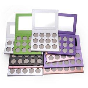 Choisissez n'importe quelle couleur Matte Matte Cream Maquillage Palette Shimmer Glitter Étanche Étanche Shadow Shadow Cosmétique Personnalisé Logo