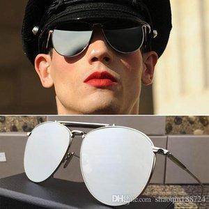 Sale Hot 2019 New Brand Sunglass TB 015 Fashion Mirror Sunglasses Men Brand Designer Summer Style Retro Punk Sun Glasses With Original Box