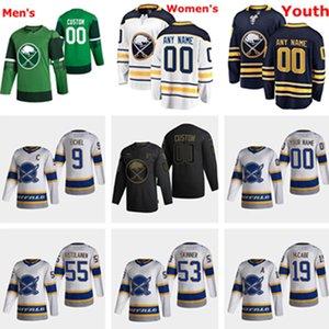 Buffalo Sabres 2021 Retro Retro Hockey Jerseys Jack Eichel Jersey Rasmus Dahlin Jeff Skinner Wayne Simmonds Sam Reinhart Custom Steinsted