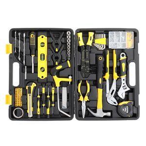 218pcs Iron Household Tool Set Black