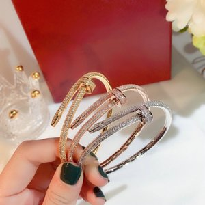 Fashion Senior Designer bracelet Jewelrys Lady Couple Gift Designers Jewelry Top Quality Trend Classic Matching Brand Luxury accessories