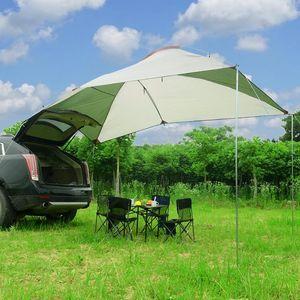 Палатки и укрытия портативный водонепроницаемый уют для кемпинга Автомобильная палатка задний навес навес на сарай