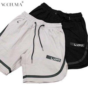Voobuyla زائد حجم 3xl الرياضة قصيرة الرجال اللياقة البدنية crossfit sweatpants ضغط السراويل القصيرة ملابس داخلية رجل رياضة تشغيل الركض السراويل T200414
