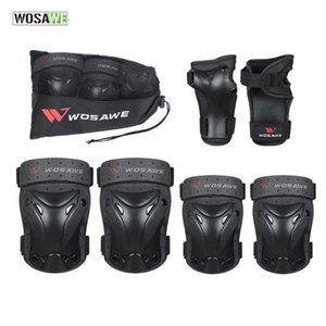 Elbow & Knee Pads WOSAWE 6 In 1 Set Wrist Child Roller Skates Skateboard Ski Bike Protector Extreme Sports Safety Guards