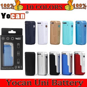 Yocan UNI Box Mod Kits 650mAh 10s Preheat VV Variable Voltage Battery With Magnetic 510 Adapter For Thick Oil Cartridge