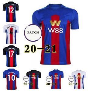 Fussball Jersey2021TOP QualitätPalace 11 Wilfried Jersey 2021 14 Luka Milivojevic 18 James McArthur 3 Patrick van Footballshirt Hohe Qualität