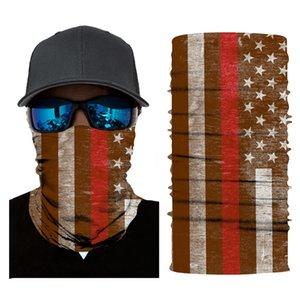 Summer Sunscreen Face Mask Ice Silk Magic DHL Scarf Shipping Men's Women Headband Outdoor Riding Bandanas Windproof Neck Gaiter B181F