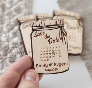 Fridge Magnets Wedding Calendar Save The Date Magnet And Custom Wooden Favor!