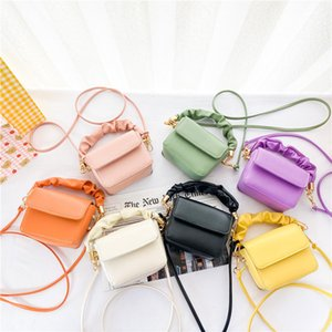 Kids Handbags Girls Bags Children Accessories Childrens Leather Princess Wallet Cute Purses Shoulder Messenger Bag Fashion 2613 Y2