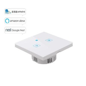 Sonoff smart home touch wall switch T1 EU 86 Type WiFi Wireless Automation 433Mhz RF Remoted Controlled Border Works With Alexa Google