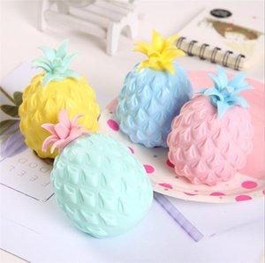 Anti Stress Fun Soft Pineapple Ball Reliever Toy Fidget Squishy Antistress Creativity Sensory Children Adult Toys