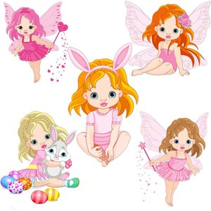 Painting Supplies Cute Angels And Beautiful Girls Metal Cutting Dies Stencil For Scrapbooking Embossing Craft Card Stamp Die Cut Birthday